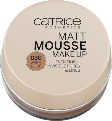 Catrice Cosmetics Mousse Make Up 030 Warm Beige 16gr