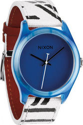 Nixon Ladies The Mod Acetate Blue Watch A402300