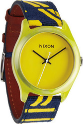 Nixon Ladies The Mod Acetate Yellow Watch A402250