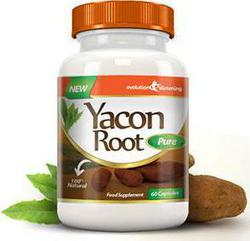 Evolution Slimming Yacon Root Pure 500mg 60 ταμπλέτες