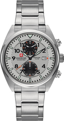 Swiss Military by Chrono Hanowa Airbone Stainless Steel Chronograph 06-5227.04.009