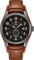 Swiss Military Hanowa Hanowa Trooper Brown Leather Strap 06-4215.30.007.05