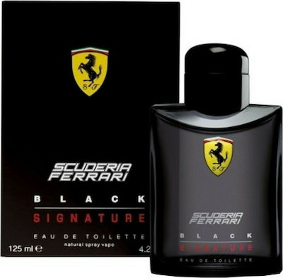Ferrari Scuderia Black Signature Eau de Toilette 125ml