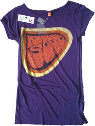 Amplified clothing Rubber soul purple female