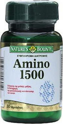 Nature's Bounty Amino 1500mg 30 ταμπλέτες