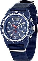 Sector Expander 90 Multifunction Blue Fabric Strap R3251197029