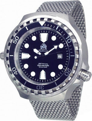Tauchmeister Mens Automatic XXL Diver Watch