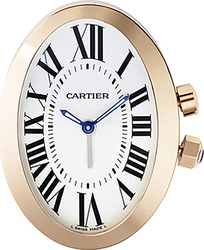 Cartier Travel Desk Clock Baignoire W0100044