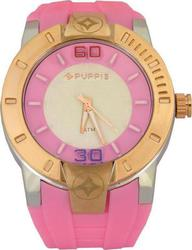 Puppis Two Tone Case Pink Rubber Strap PUM5209