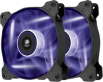 Corsair SP140 LED Purple High Static Pressure 140mm (Twin Pack)