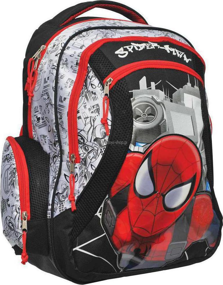 532fa90f3b Προσθήκη στα αγαπημένα menu Gim Τσάντα Δημοτικού Spiderman Ultimate Turbo
