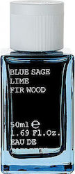 Korres Blue Sage / Lime / Fir Wood Eau de Toilette 50ml