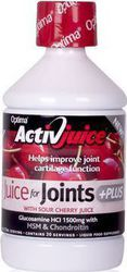 Optima Activ Juice for Joints Plus 500ml Βύσσινο