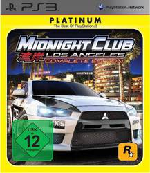 Midnight Club: Los Angeles (Complete Edition - Platinum) PS3
