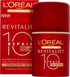 L'Oreal Revitalift Repair 10 BB Cream Medium SPF20 50ml