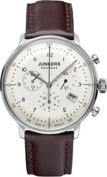Junkers Bauhaus Chrono Brown Leather Strap 6086-5