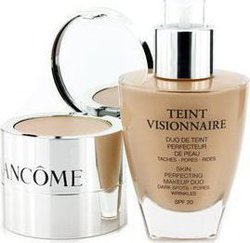 Lancome Teint Visionnaire Skin Perfecting Make Up Duo SPF20 10 Beige Porcelaine 30ml