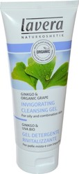 Lavera Invigorating Cleansing Gel with Ginkgo &Organic Grape for Oily/Combination Skin 100ml