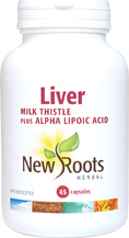 New Roots Liver 45 tabs