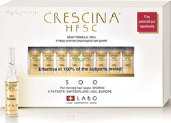 Labo Crescina HFSC 100% 500 Woman 10 αμπούλες