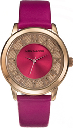 Mark Maddox Gold Pink Leather Strap MC0005-70