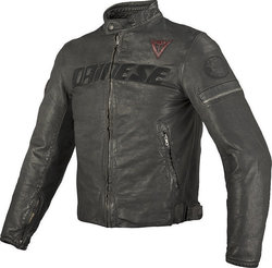 Dainese Archivio Leather Black Ace