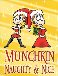 Steve Jackson Games Munchkin Naughty and Nice Booster