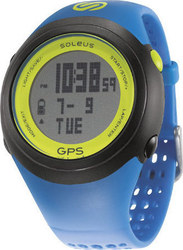 Soleus GPS Fit Blue/Lime