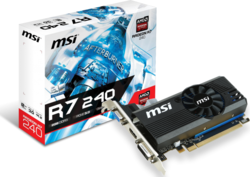 MSI Radeon R7 240 2GB LP V1 (R7 240 2GD3 LPV1)
