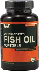 Optimum Nutrition Enteric Coated Fish Oil 100 μαλακές κάψουλες