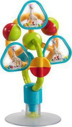 Vulli Sophie the giraffe stick-on activity center