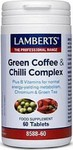 Lamberts Green Coffee Chilli 60 ταμπλέτες