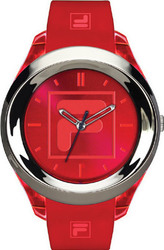 Fila Sport Red Rubber Strap 38-061-002
