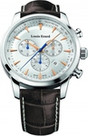 Louis Erard Heritage Quartz Brown Leather Chrongoraph 13900AA11