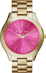 Michael Kors Gold Slim Stainless Steel Bracelet IMK3264