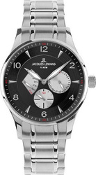 Jacques Lemans London Multi Stainless Steel 1-1827H