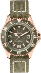Ice-Watch Canvas - Khaki Rose Gold CA.KA.RG.U.C.14