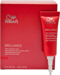 Wella Professionals Brilliance Colour Protection Serum 6x10ml