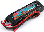 Voltz 2300mAh 2S 6 6v LiFe RX Stick Battery Pack