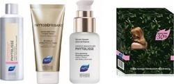 Phyto Phytolisse Shampoo 200ml & Phytodefrisant Gel 100ml & Phytolisse Serum 50ml