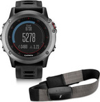 Garmin Fenix 3 Grey Performance HRM Bundle