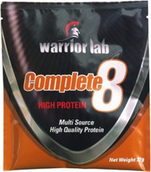 Warrior Lab Complete 8 Sachet 37gr Βανίλια