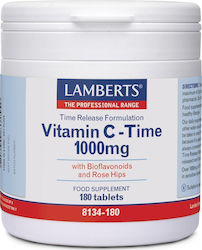Lamberts Vitamin C Time Release 1000mg 180 ταμπλέτες