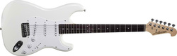 Jack and Danny Strat RE-Standard White