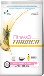 Trainer Fitness 3 Mini Puppy & Junior Fish 800gr