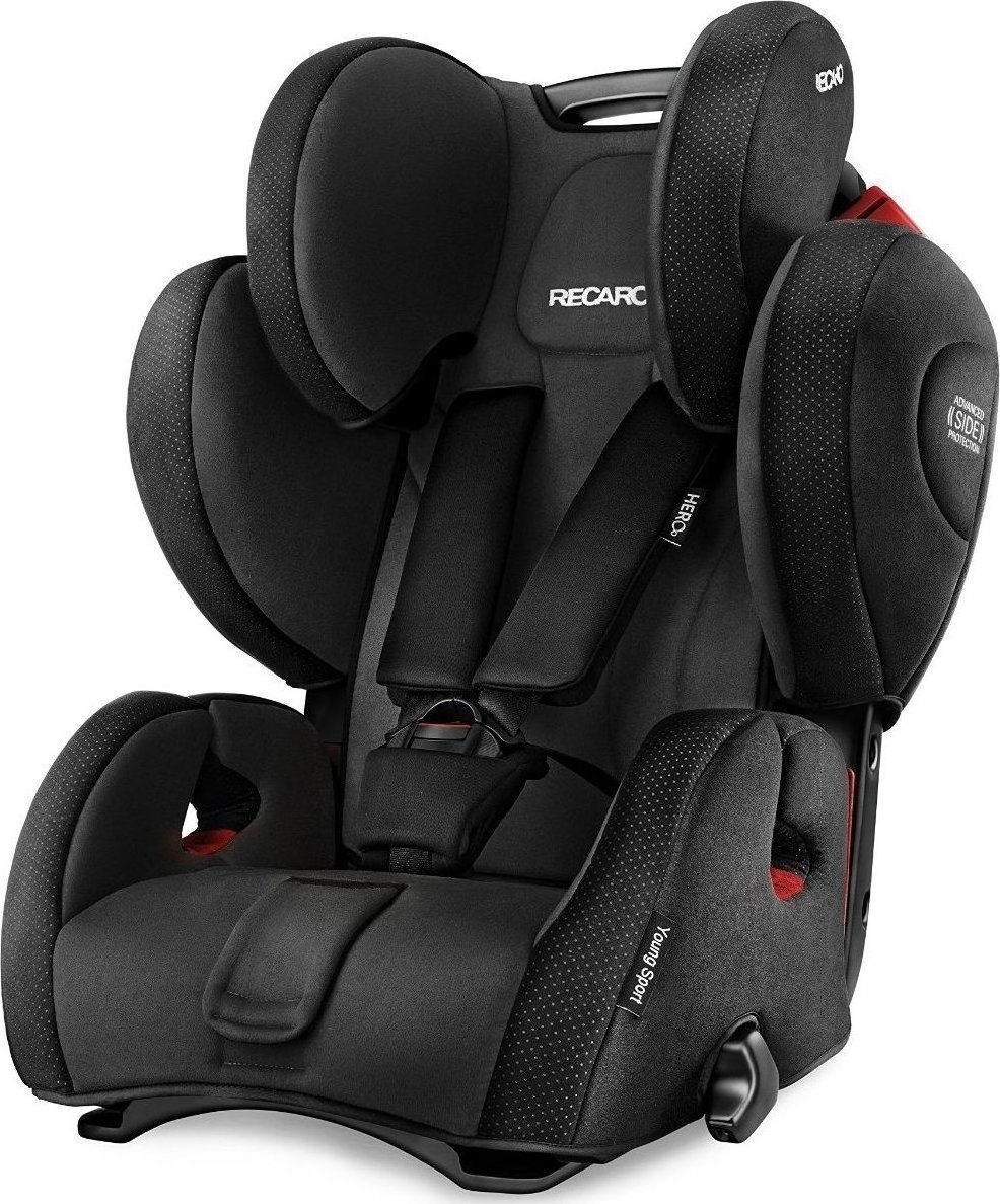 recaro young sport hero performance black. Black Bedroom Furniture Sets. Home Design Ideas
