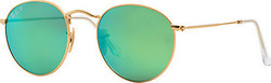 Ray Ban Round Flash Lenses RB3447 112/P9