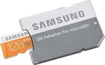 Samsung Evo microSDXC 128GB U1 with Adapter