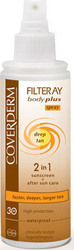 Coverderm Filteray Body Plus Deep Tan Spray SPF30 100ml