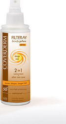 Coverderm Filteray Body Plus Deep Tan Spray SPF50 100ml
